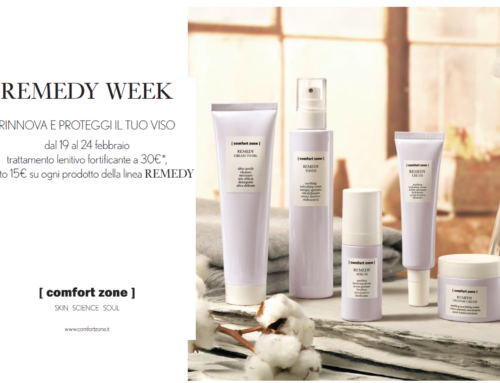 Remedy week dal 19 al 24 febbraio
